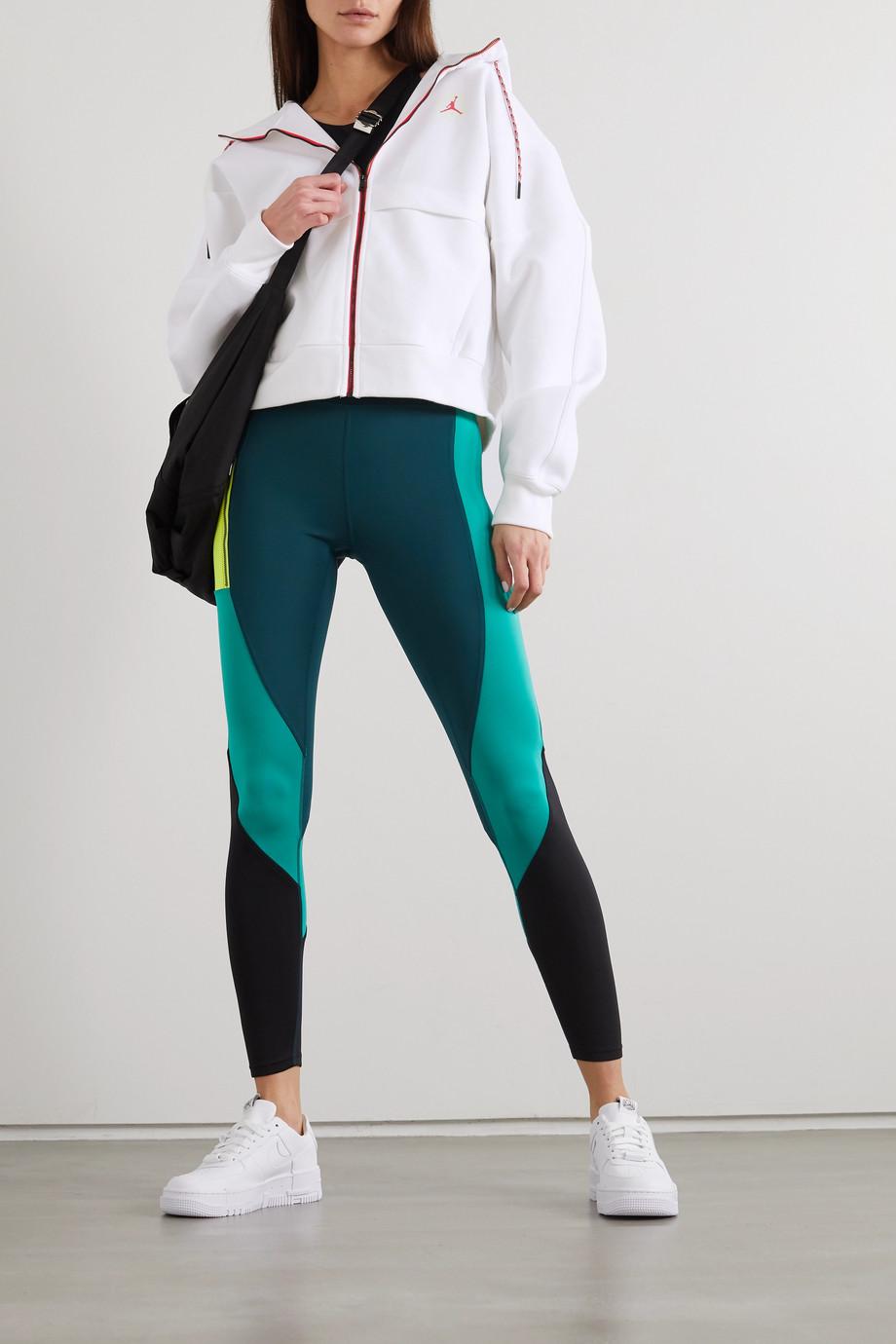 Nike Jordan printed fleece-back jersey hoodie