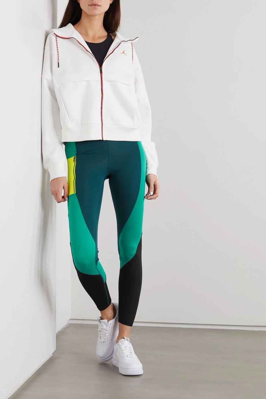 Nike Jordan Winter Utility Stretch-Leggings in Colour-Block-Optik
