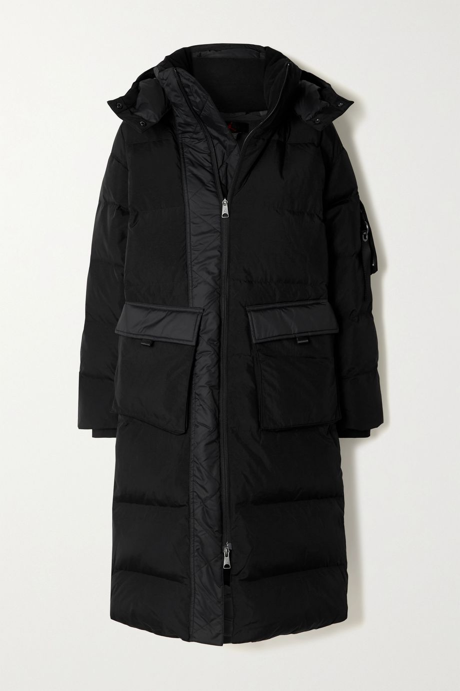 Nike Hooded quilted shell down jacket