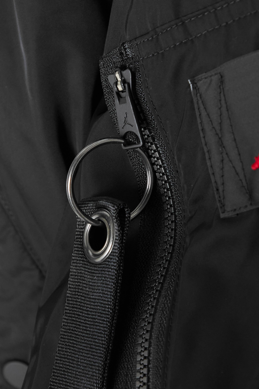 Nike Jordan cropped padded shell bomber jacket