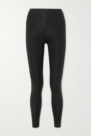 Skin Calypso stretch organic Pima cotton-jersey leggings