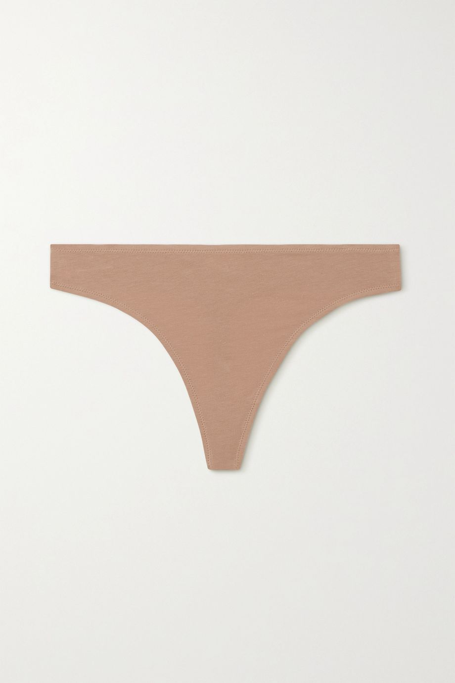 Skin Genny stretch organic Pima cotton-jersey thong