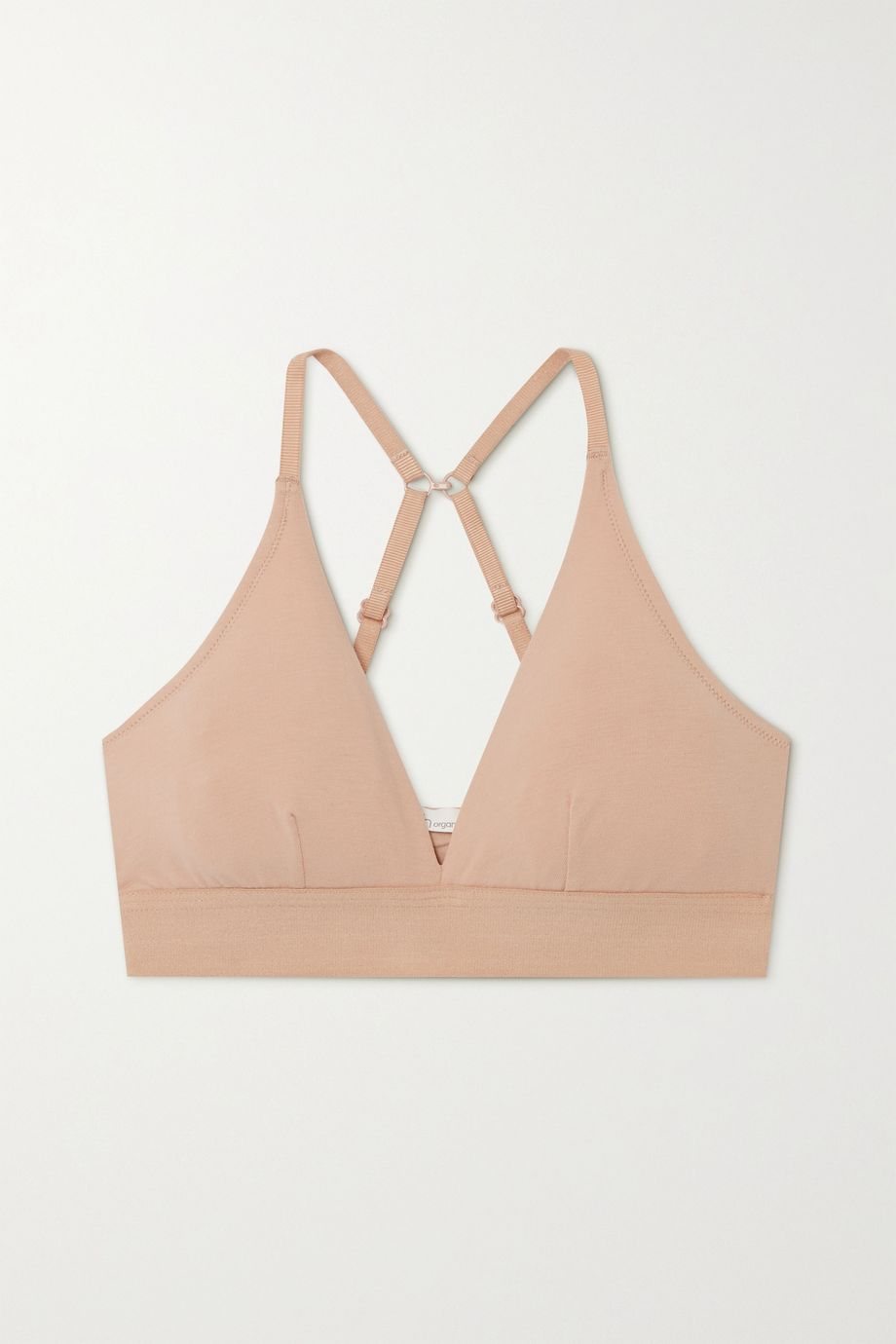 Skin Hadlee stretch organic Pima cotton-jersey soft-cup triangle bra