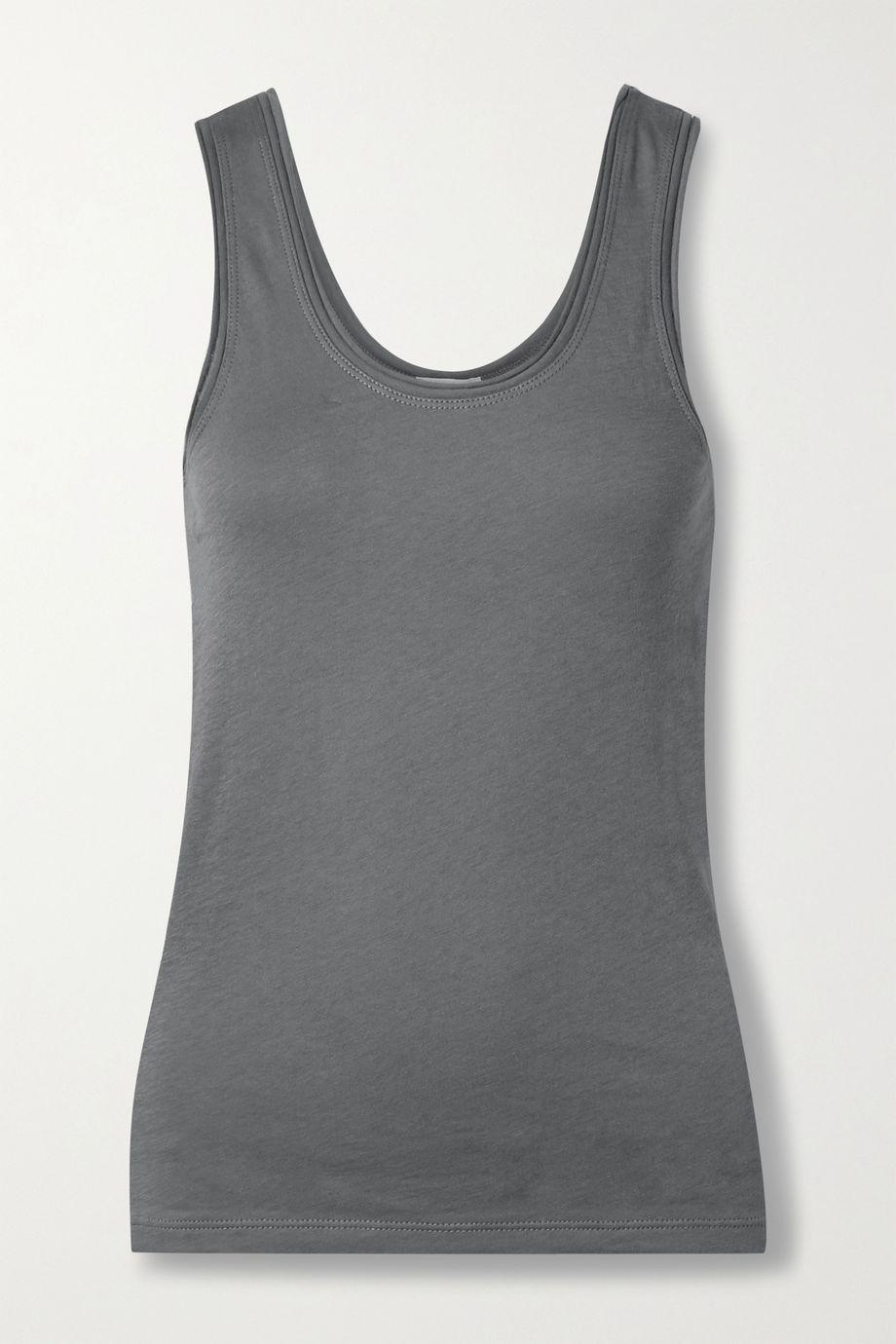 Skin Organic Pima cotton-jersey tank