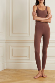 Skin Calypso stretch organic Pima cotton jersey leggings