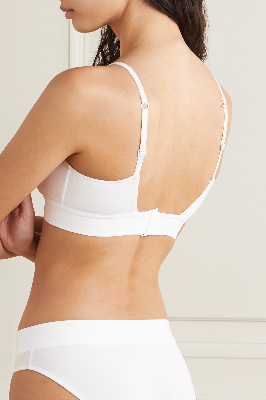 Skin Harper Soft-BH aus Jersey aus Bio-Pima-Baumwolle mit Stretch-Anteil
