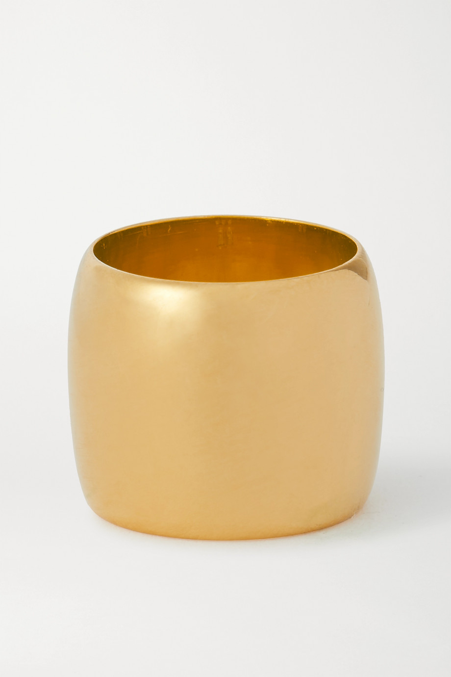 Sophie Buhai Cigar gold vermeil ring