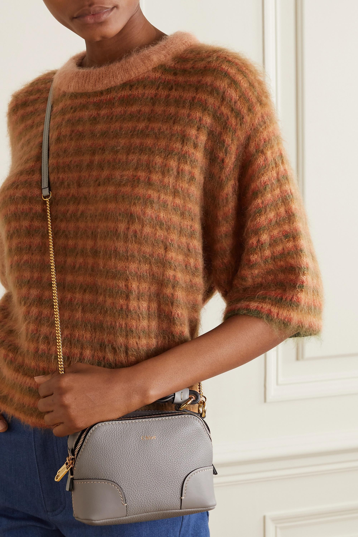 Chloé Daria 纹理皮革光滑皮革迷你手提包