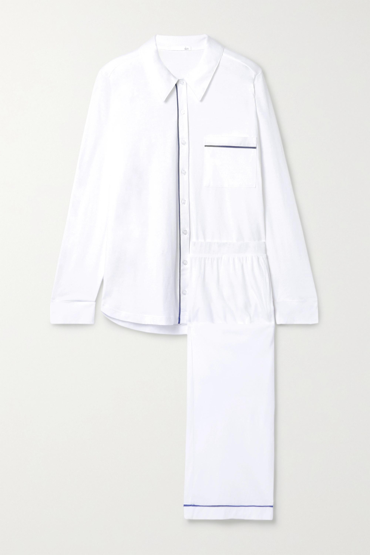 Skin Paulina Pyjama aus Pima-Baumwoll-Jersey