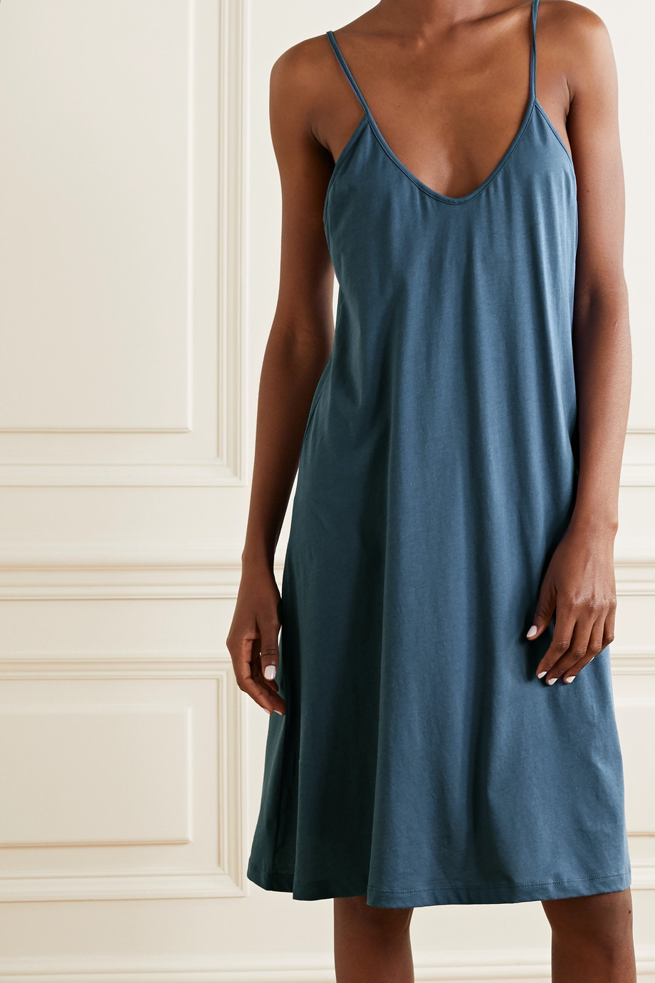Skin Essentials Odelle Pima cotton-jersey nightdress