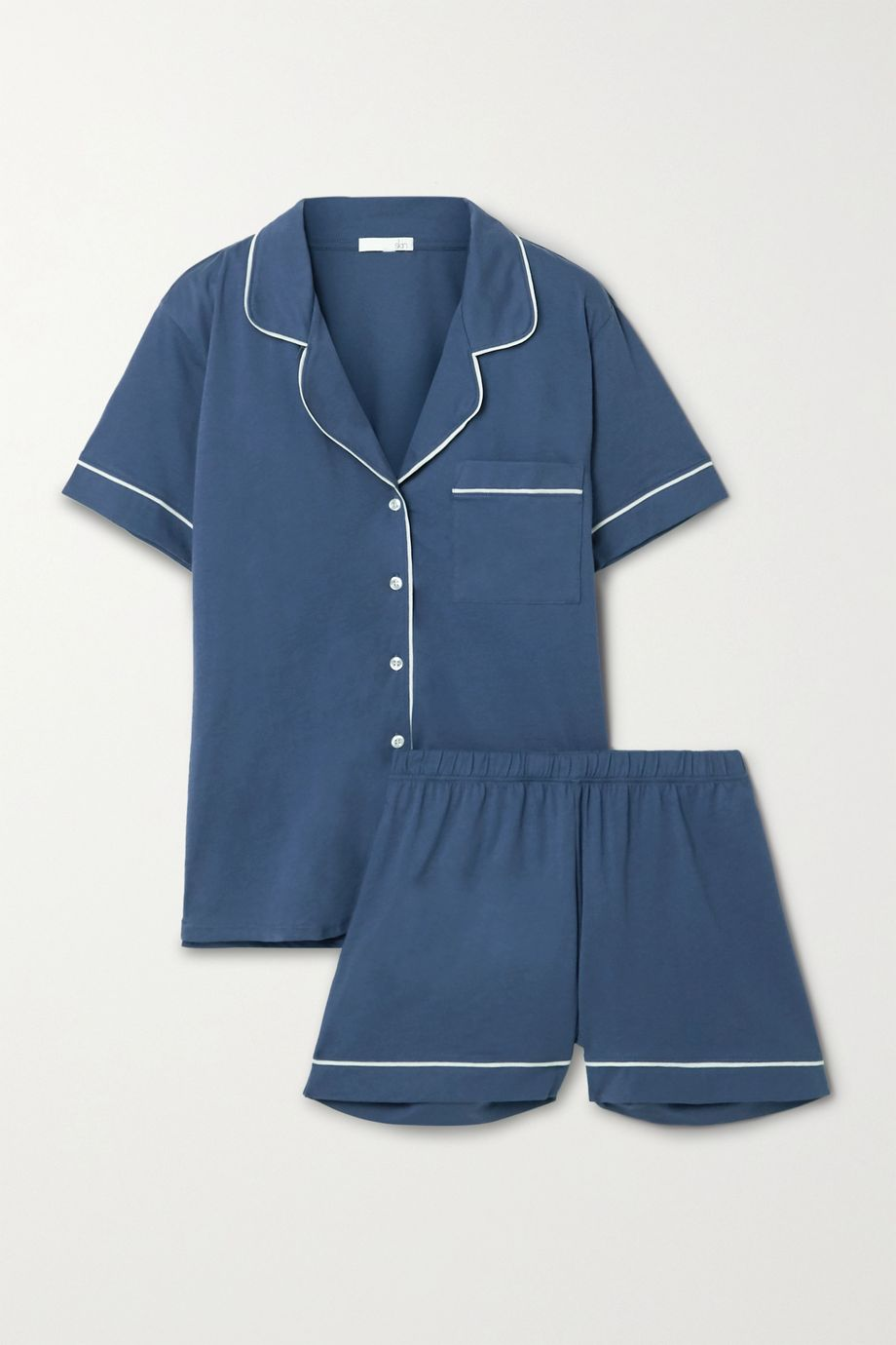 Skin Pima cotton-jersey pajama set