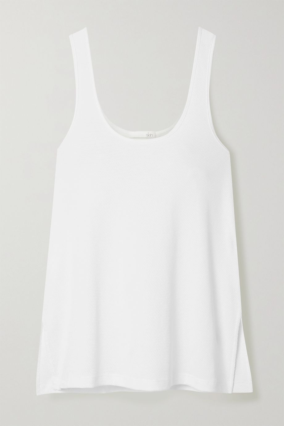 Skin Liza textured Pima cotton tank