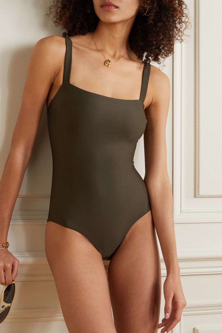 Matteau + NET SUSTAIN stretch-REPREVE swimsuit