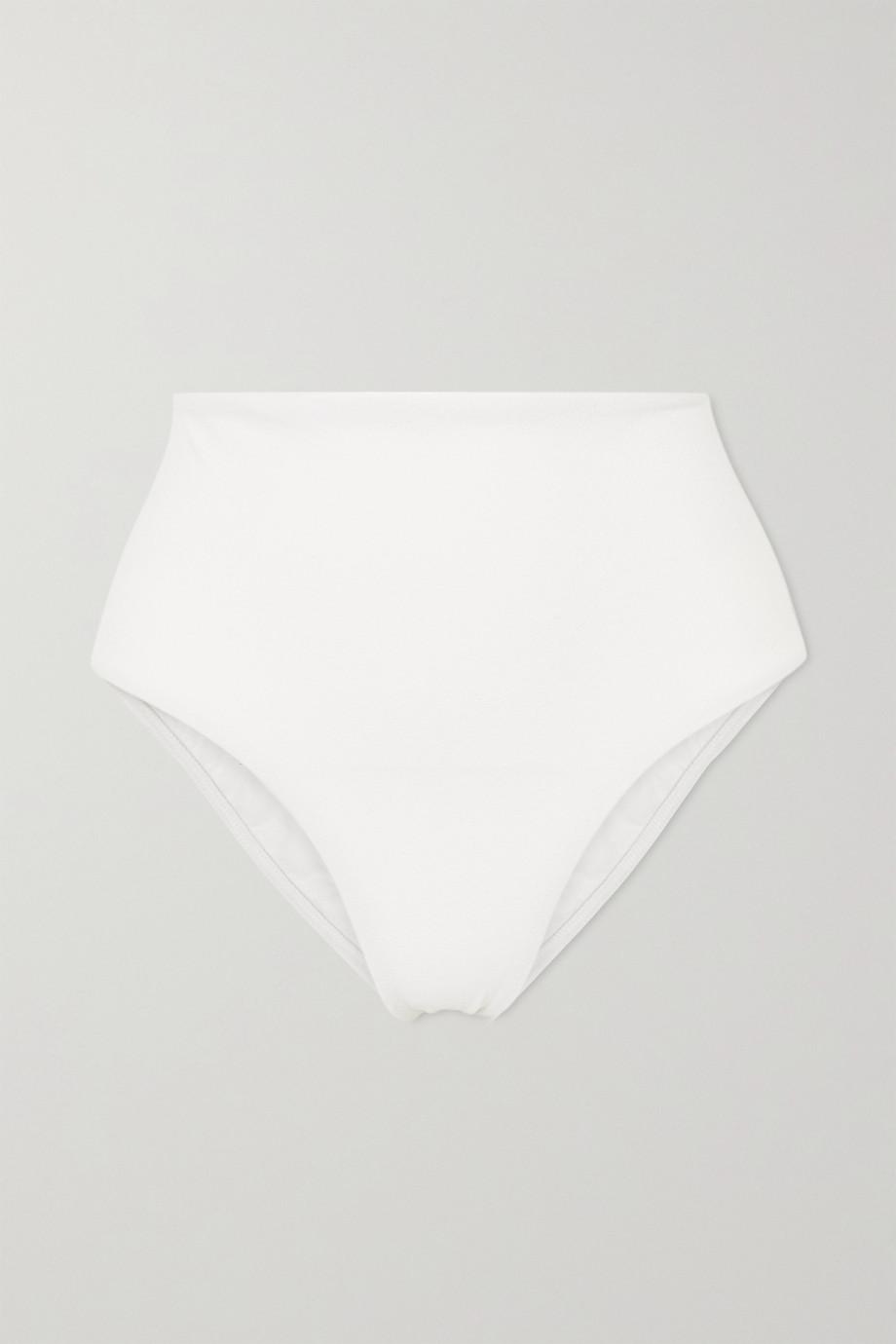 Matteau + NET SUSTAIN Bikini-Höschen in Knitteroptik