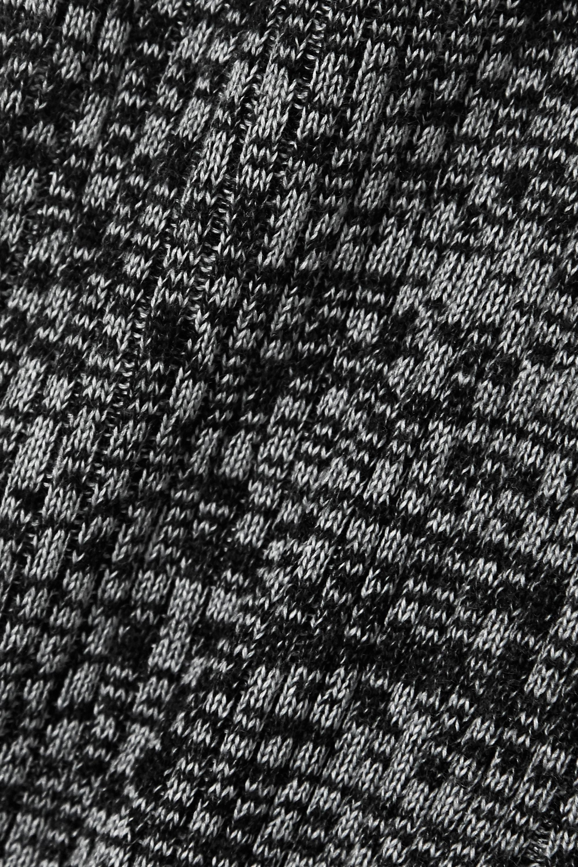 Skin Caitlin 罗纹段染羊毛混纺窄腿裤