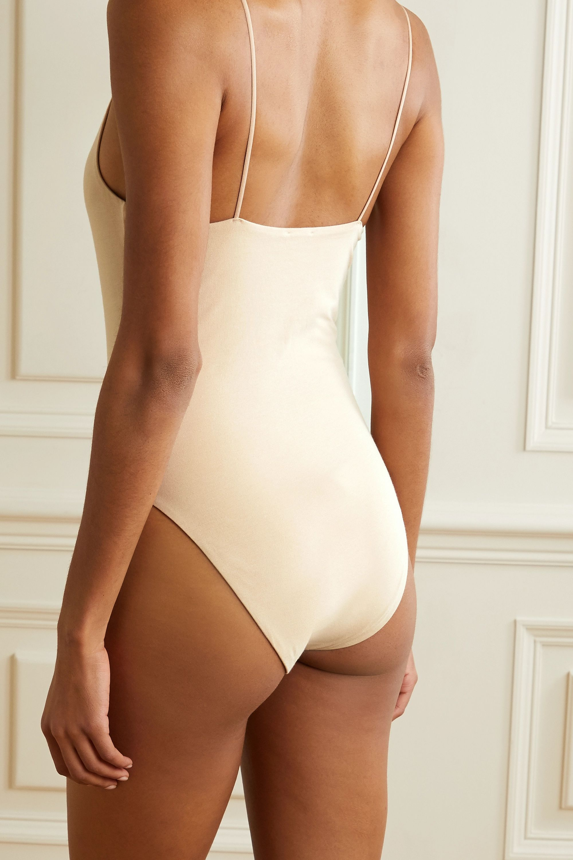 Skin 【NET SUSTAIN】Narcissa 弹力有机比马棉质平纹布连体紧身衣