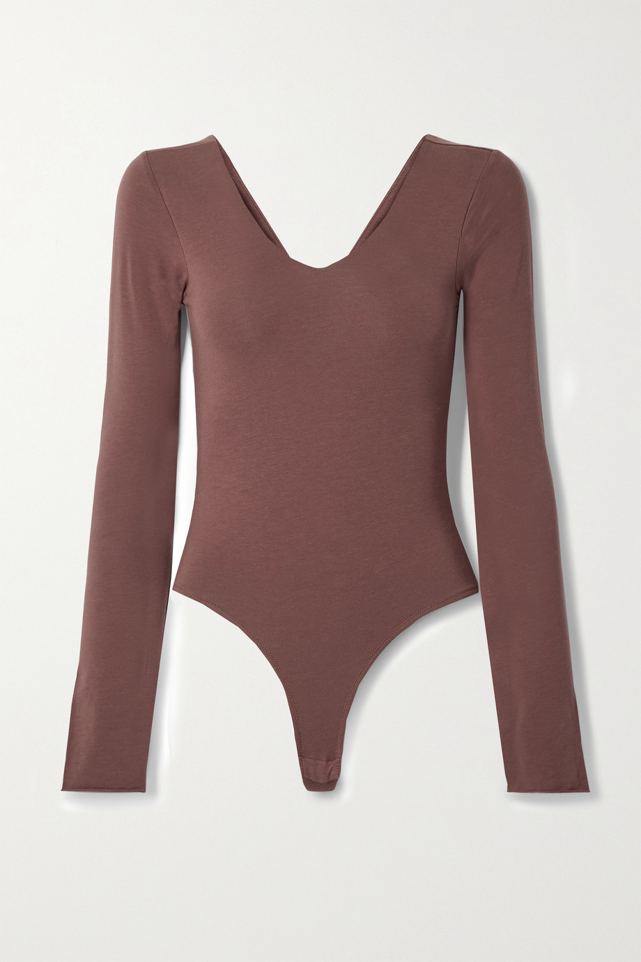 Skin 【NET SUSTAIN】Diana 有机比马棉质平纹布丁字裤式连体紧身衣