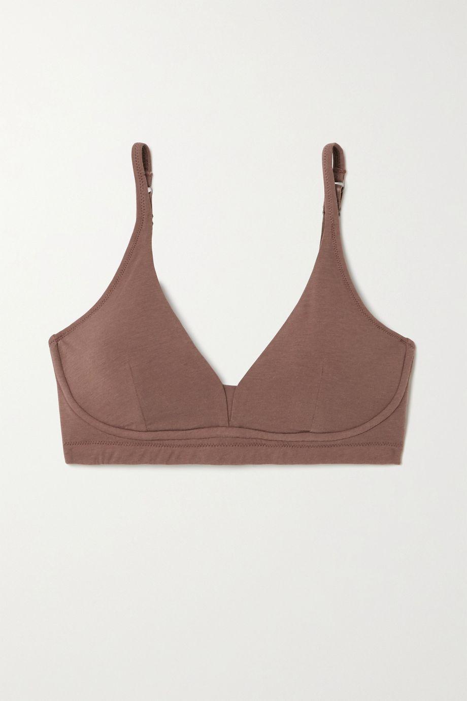 Skin + NET SUSTAIN Gracelynne Soft-BH aus Bio-Pima-Baumwoll-Jersey mit Stretch-Anteil