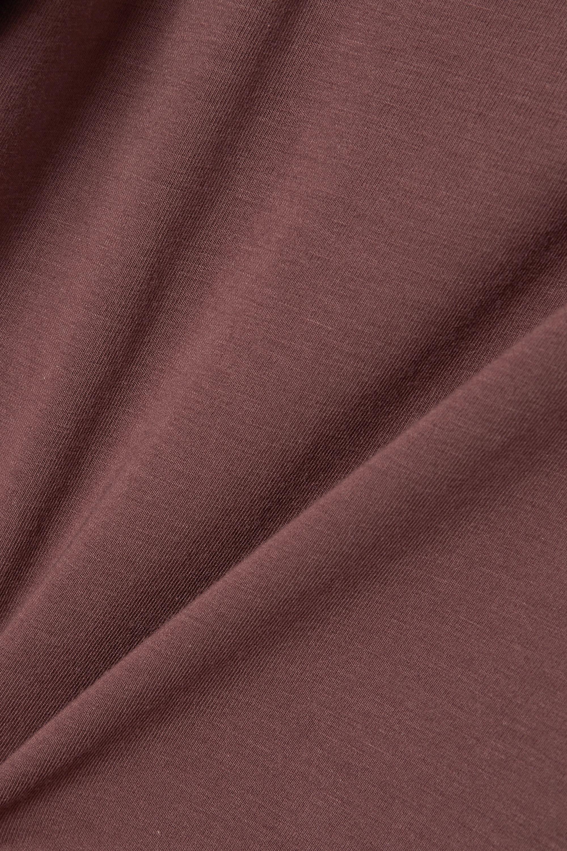 Skin 【NET SUSTAIN】Calliope 正反两穿有机比马棉质混纺平纹布短款坦克背心