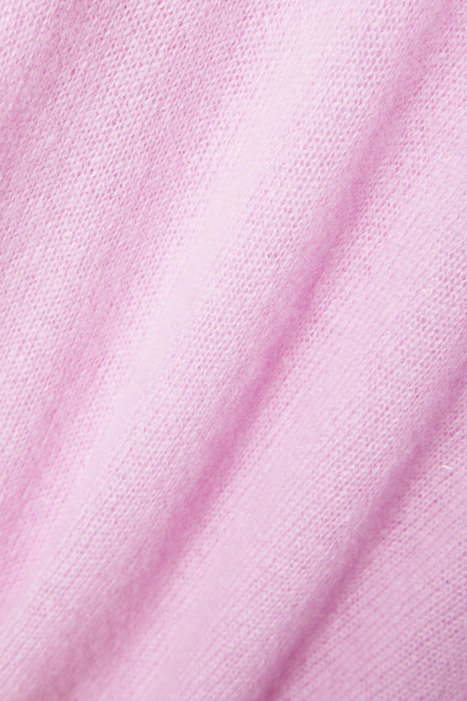 Skin Phoebe Rollkragenpullover aus Kaschmir mit Cut-out