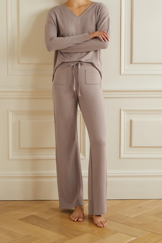 Skin Fabianna 莫代尔混纺平纹布睡裤