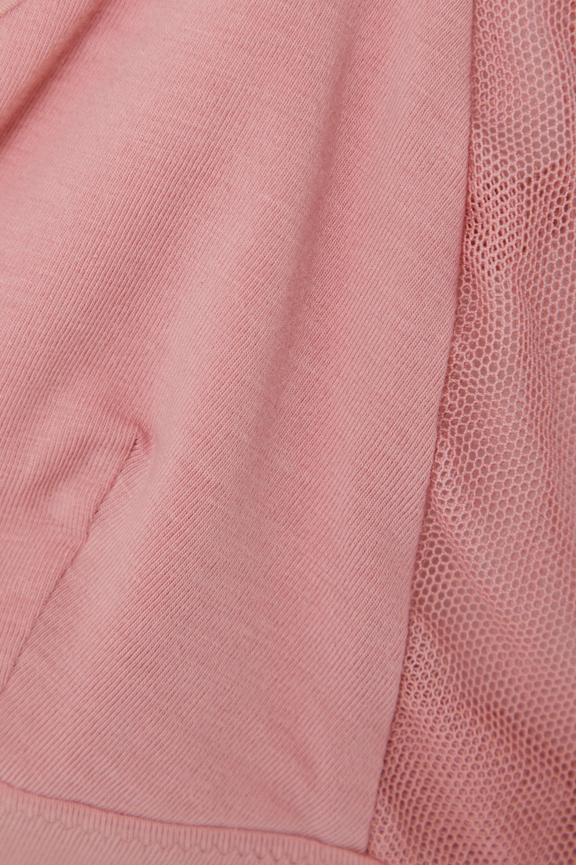 Skin + NET SUSTAIN Germaine Soft-BH aus Bio-Pima-Baumwoll-Jersey mit Stretch-Anteil und Mesh-Besätzen
