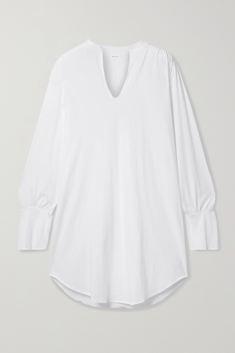 Skin + NET SUSTAIN Kyla organic Pima cotton-jersey pajama top