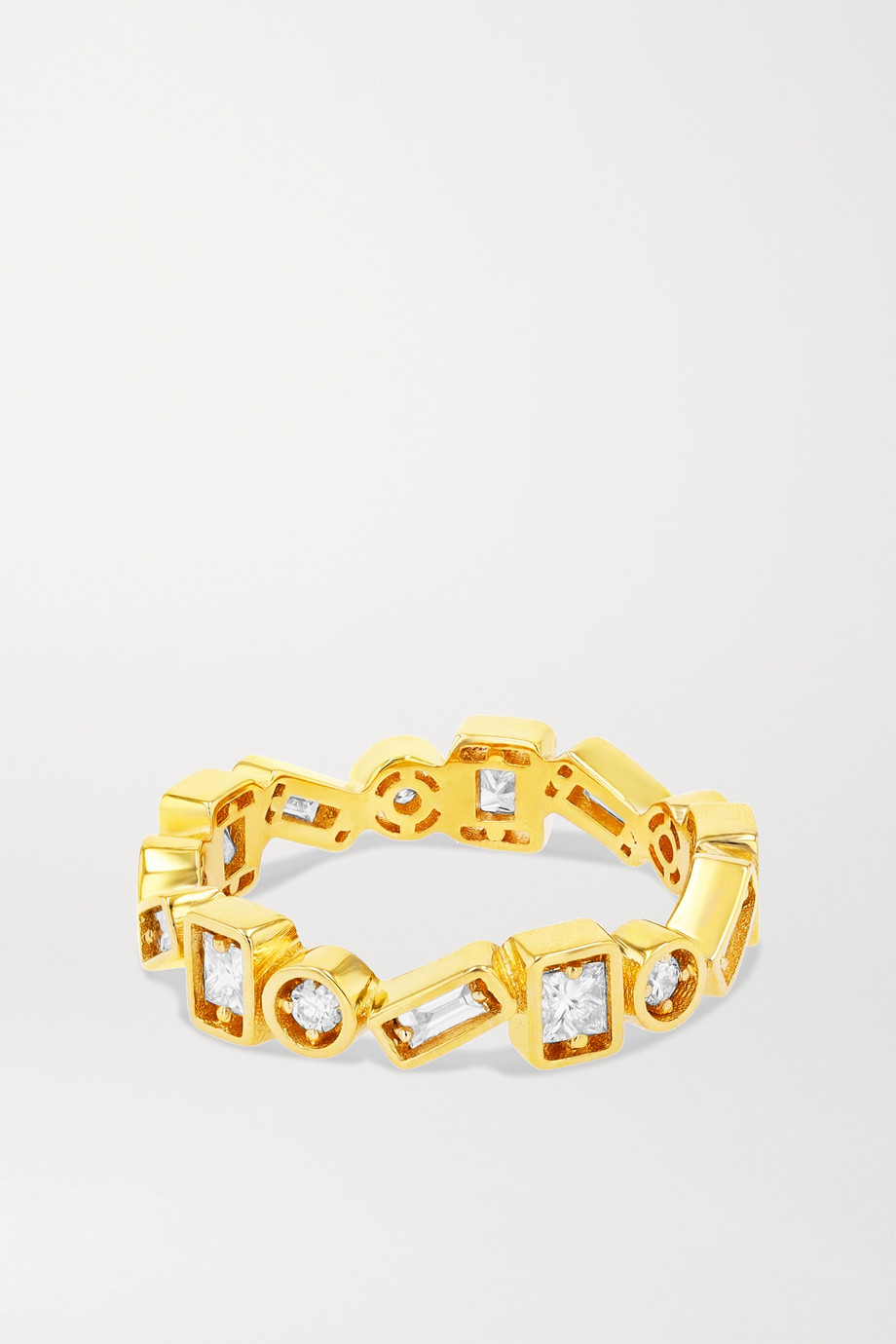Suzanne Kalan Bague en or 18carats et diamants