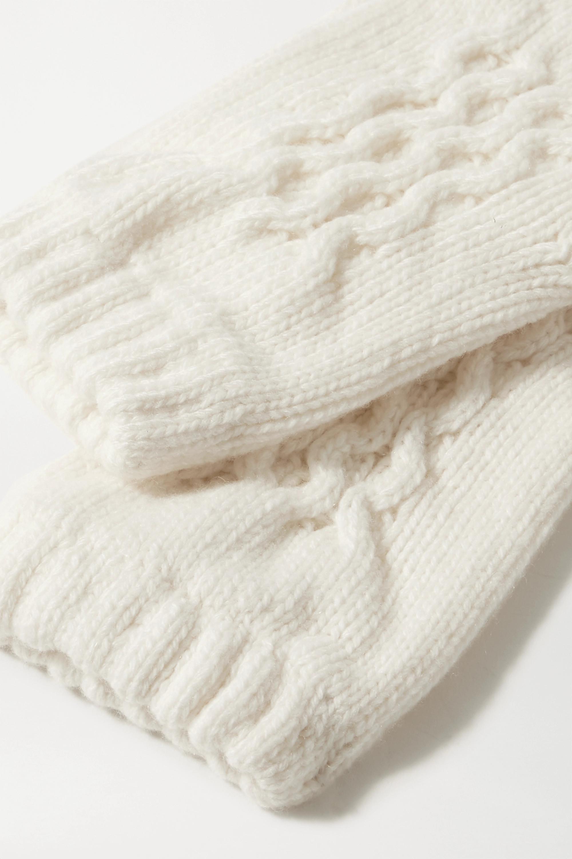 Johnstons of Elgin + NET SUSTAIN Handschuhe aus Kaschmir