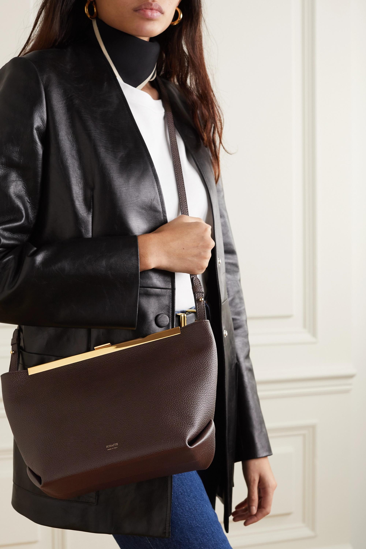 Khaite Augusta textured-leather shoulder bag