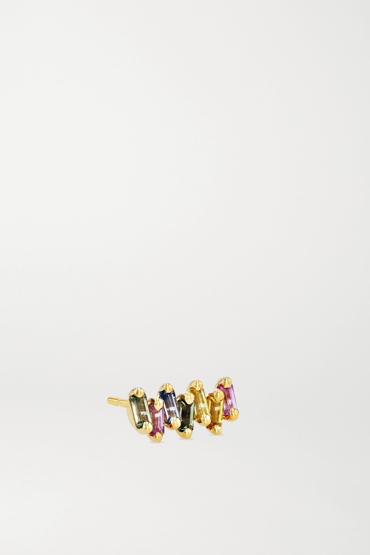 Suzanne Kalan Ohrringe aus 18Karat Gold mit Saphiren