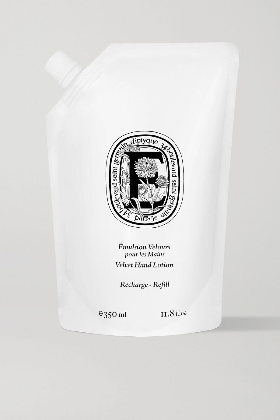 Diptyque Velvet Hand Lotion, 350 ml – Handlotion (Nachfüll-Packung)