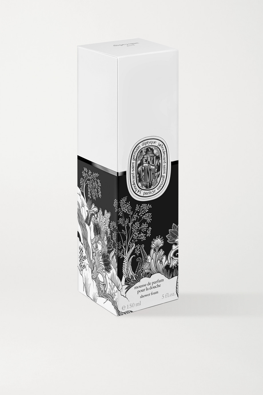 Diptyque Eau de Minthe Shower Foam, 150 ml – Duschgel