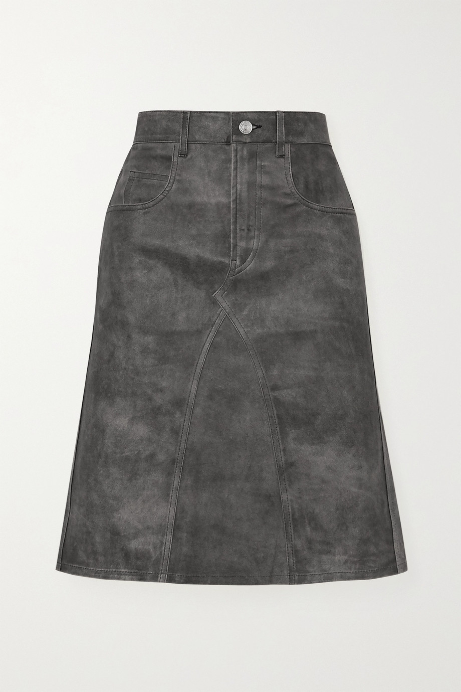 Isabel Marant Étoile Fiali leather skirt