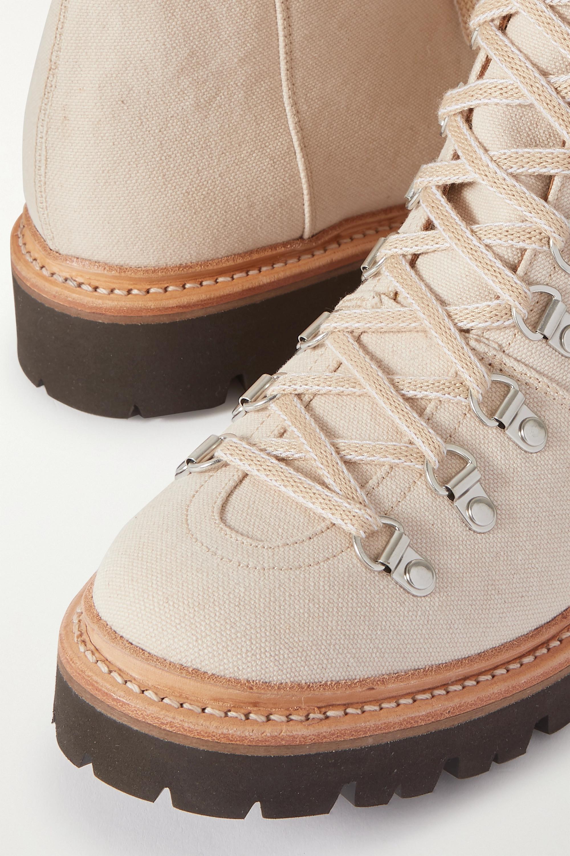 Grenson Nanette canvas ankle boots