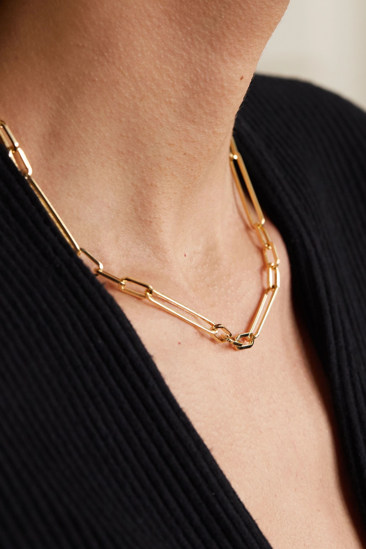 Loren Stewart Gold necklace