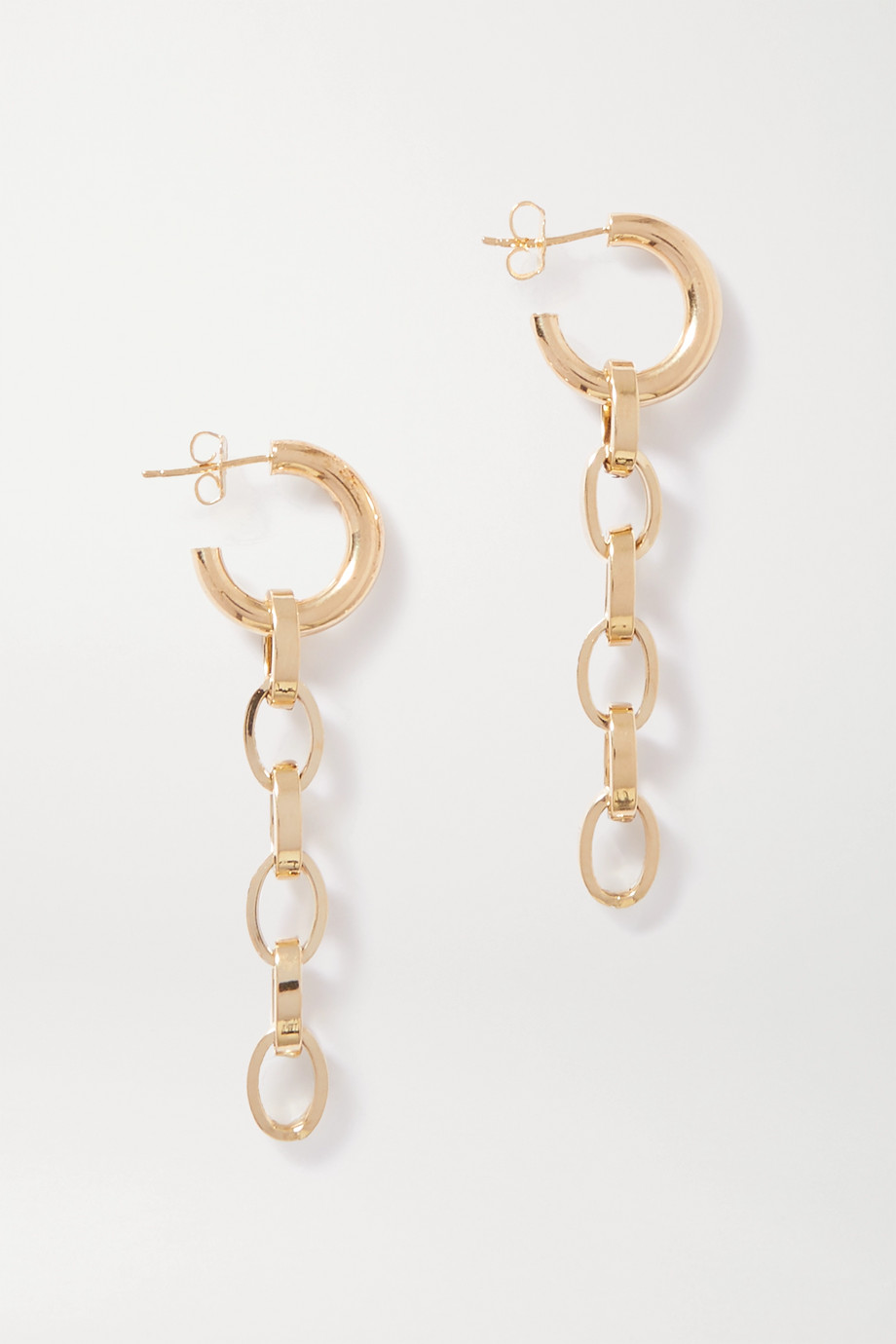 Loren Stewart Gold earrings