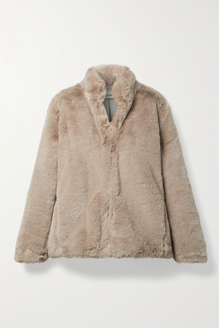 Cefinn Carly faux fur jacket