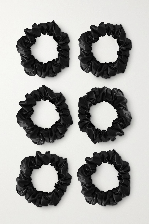 Slip - Set of six large silk hair ties