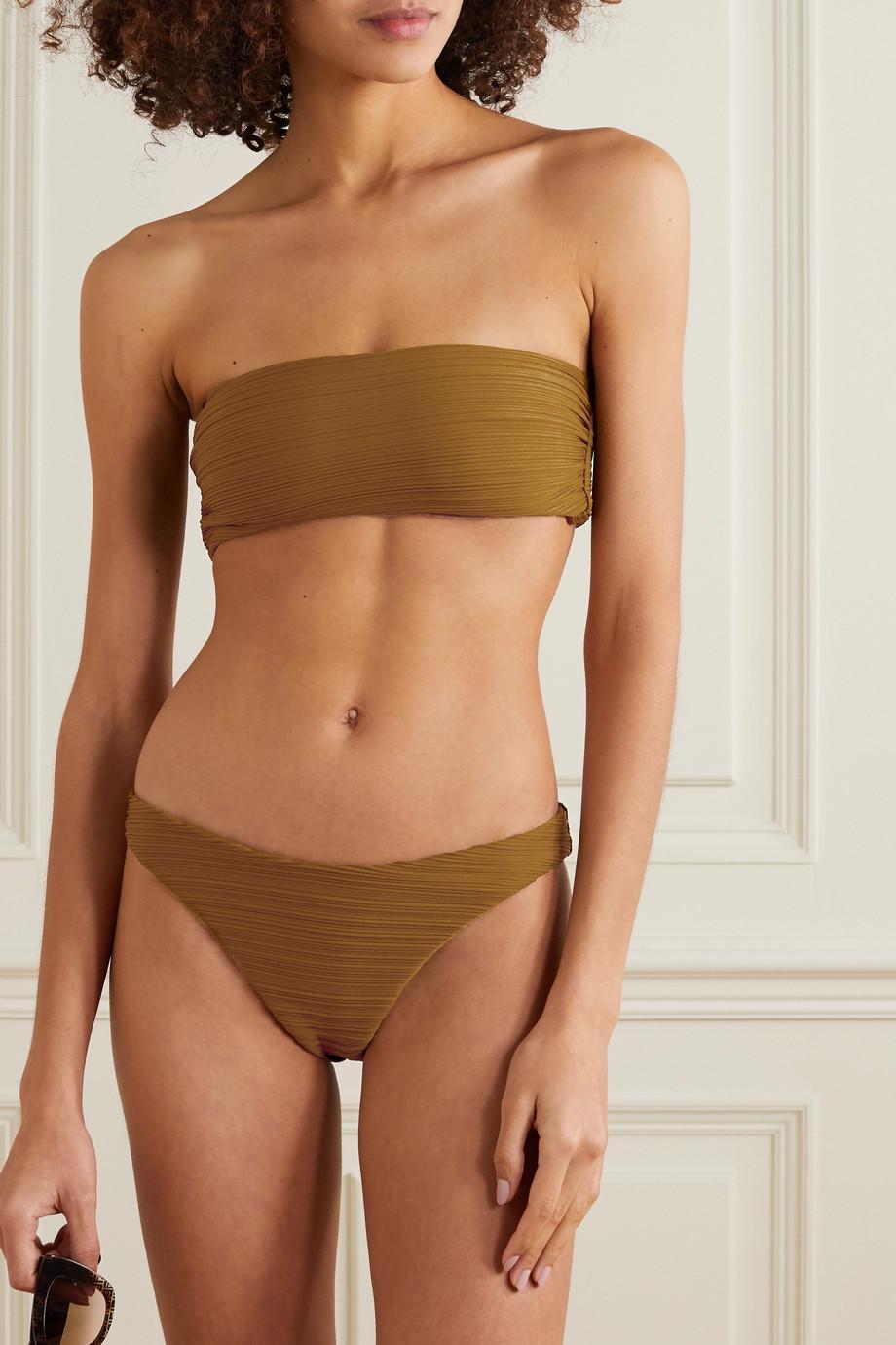 Mara Hoffman + NET SUSTAIN Reva ribbed bikini briefs