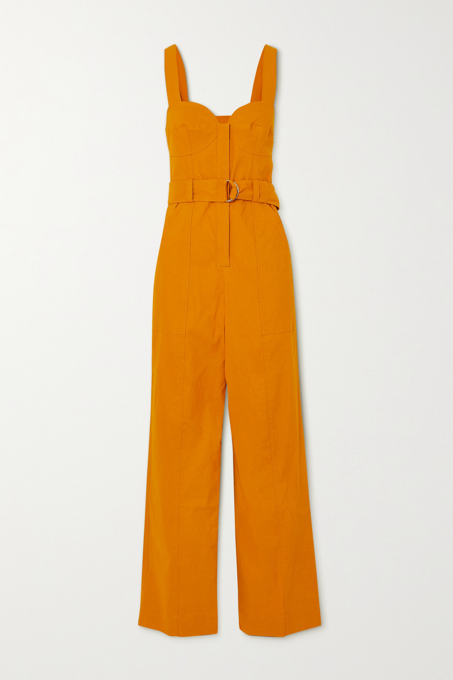A.L.C. A.L.C. x Petra Flannery Cyprus belted linen-blend jumpsuit