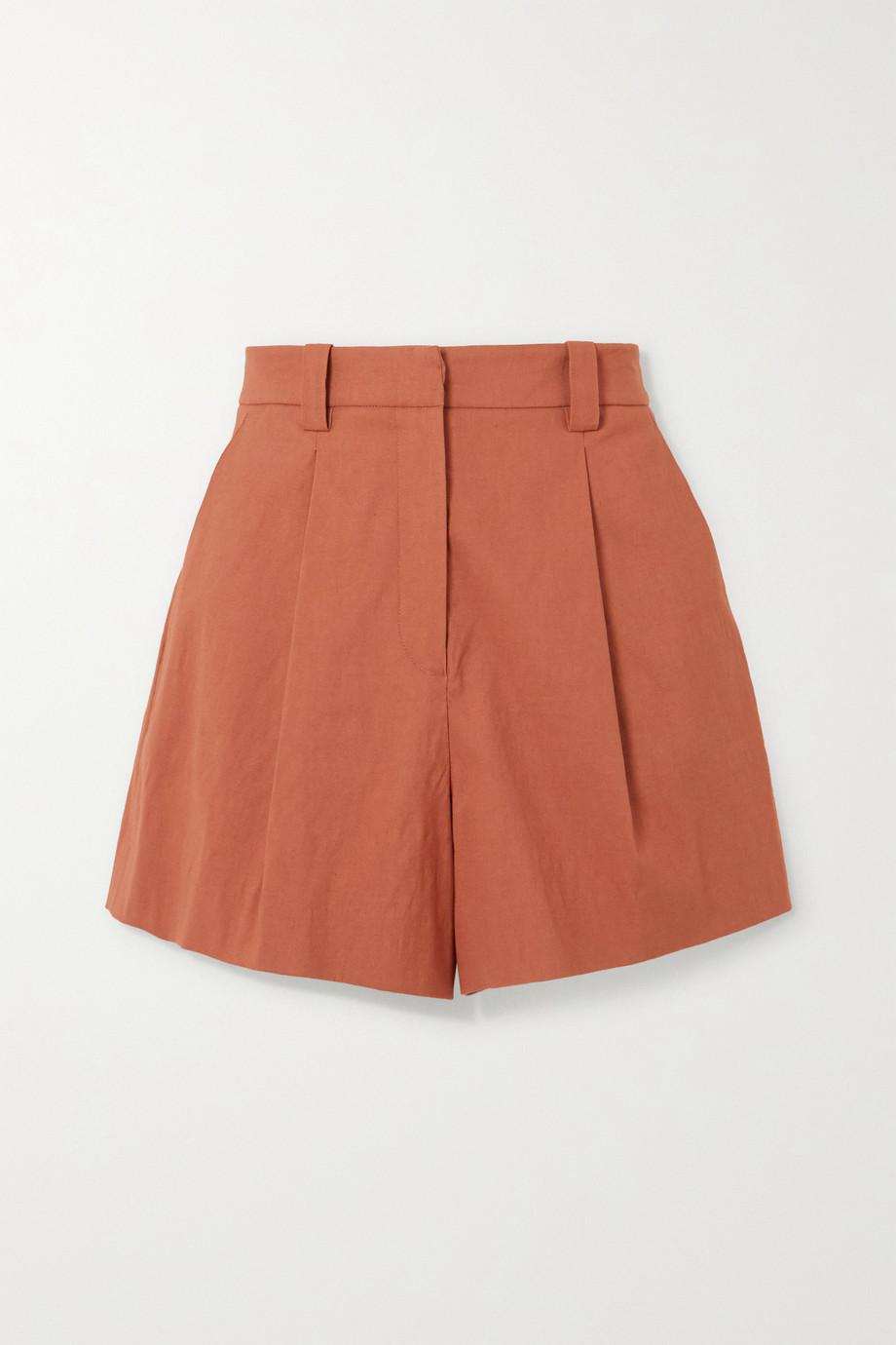 A.L.C. A.L.C. x Petra Flannery Huxley Shorts aus einer Leinenmischung