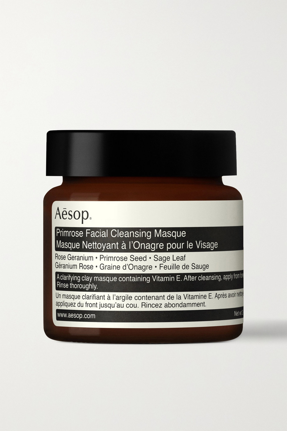 Aesop Primrose Facial Cleansing Masque, 62ml