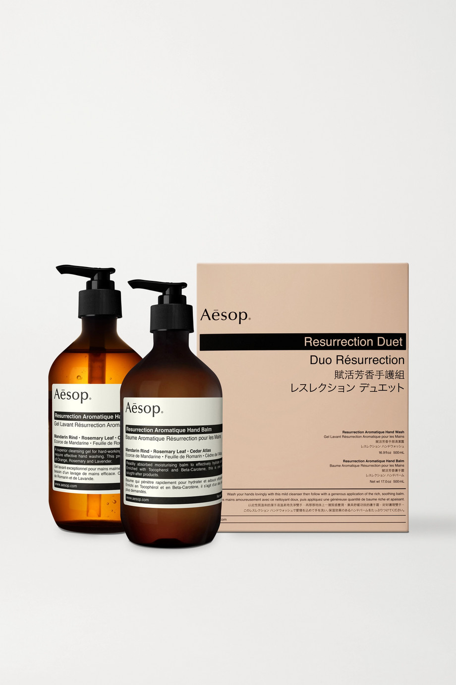Aesop Resurrection Duet, 2 x 500ml