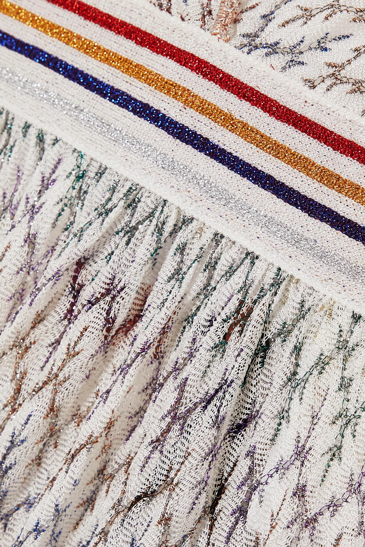 Missoni Mare metallic crochet-knit jumpsuit