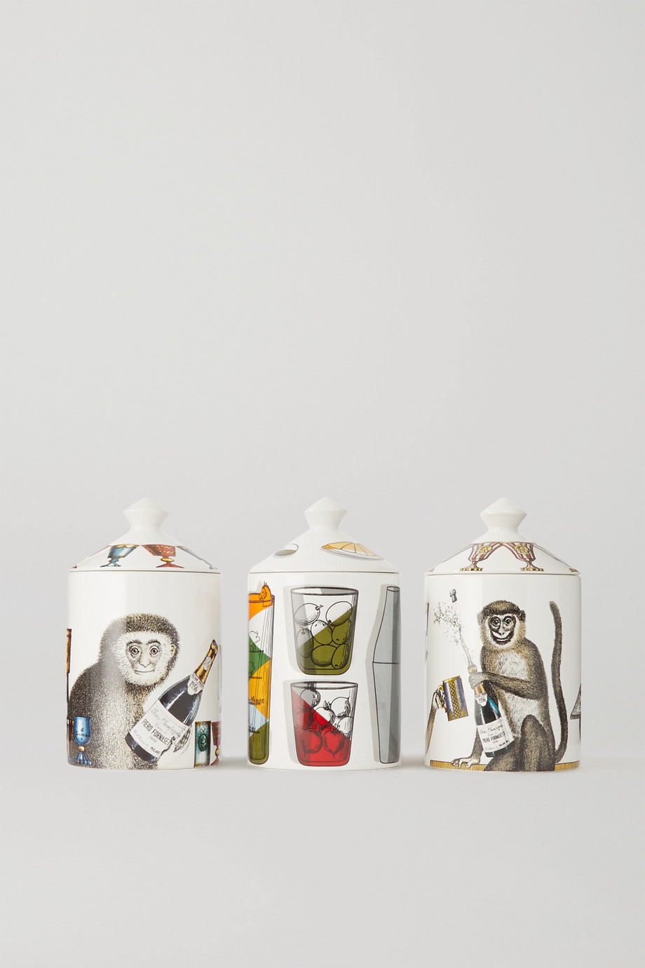 Fornasetti 甜蜜佳酿香薰蜡烛礼盒(三支装),3 x 300g