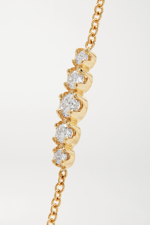 Jennifer Meyer Bracelet en or 18 carats et diamants
