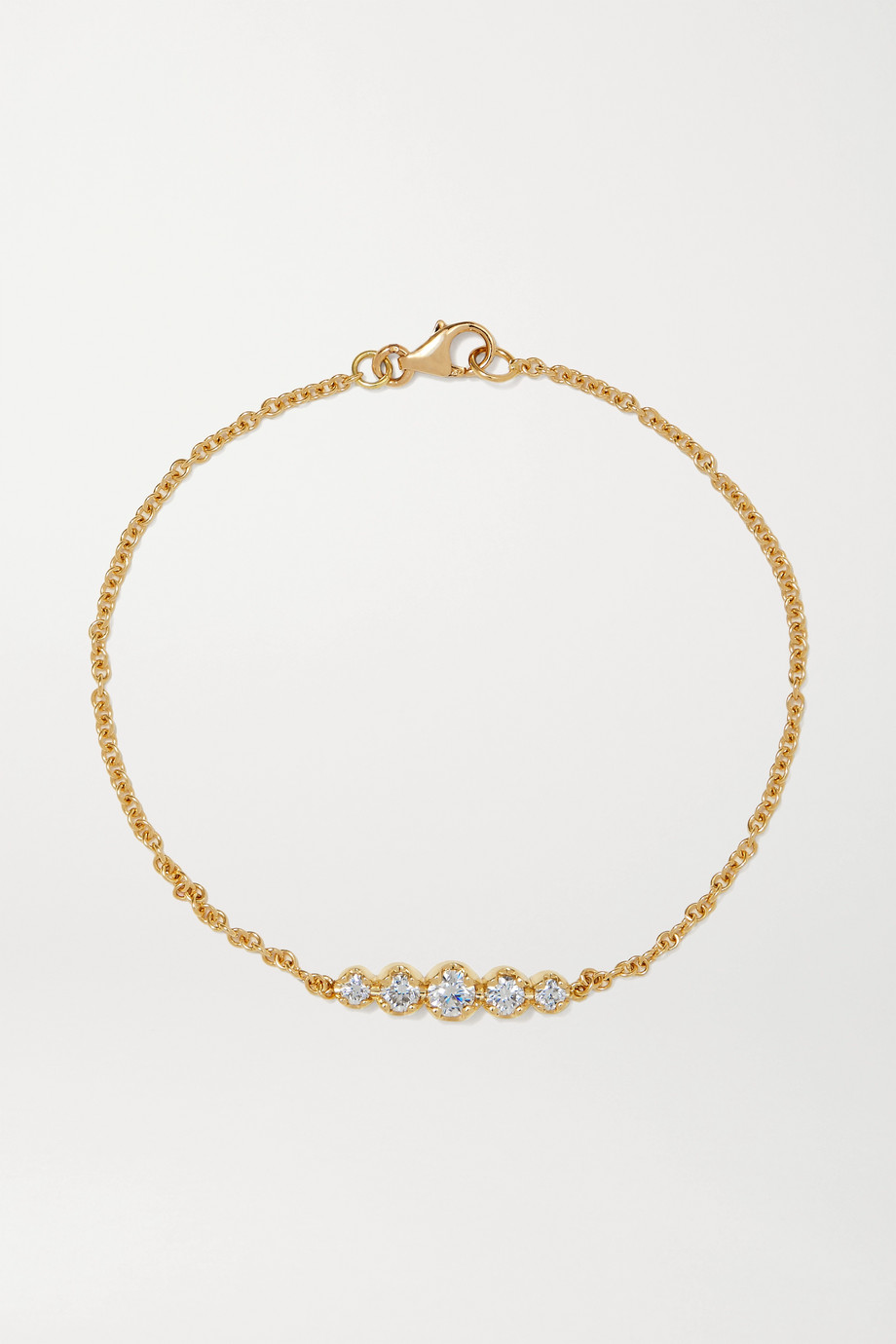Jennifer Meyer Bracelet en or 18 carats et diamants