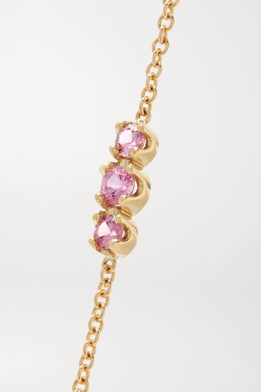 Jennifer Meyer Armband aus 18 Karat Gold mit Saphir