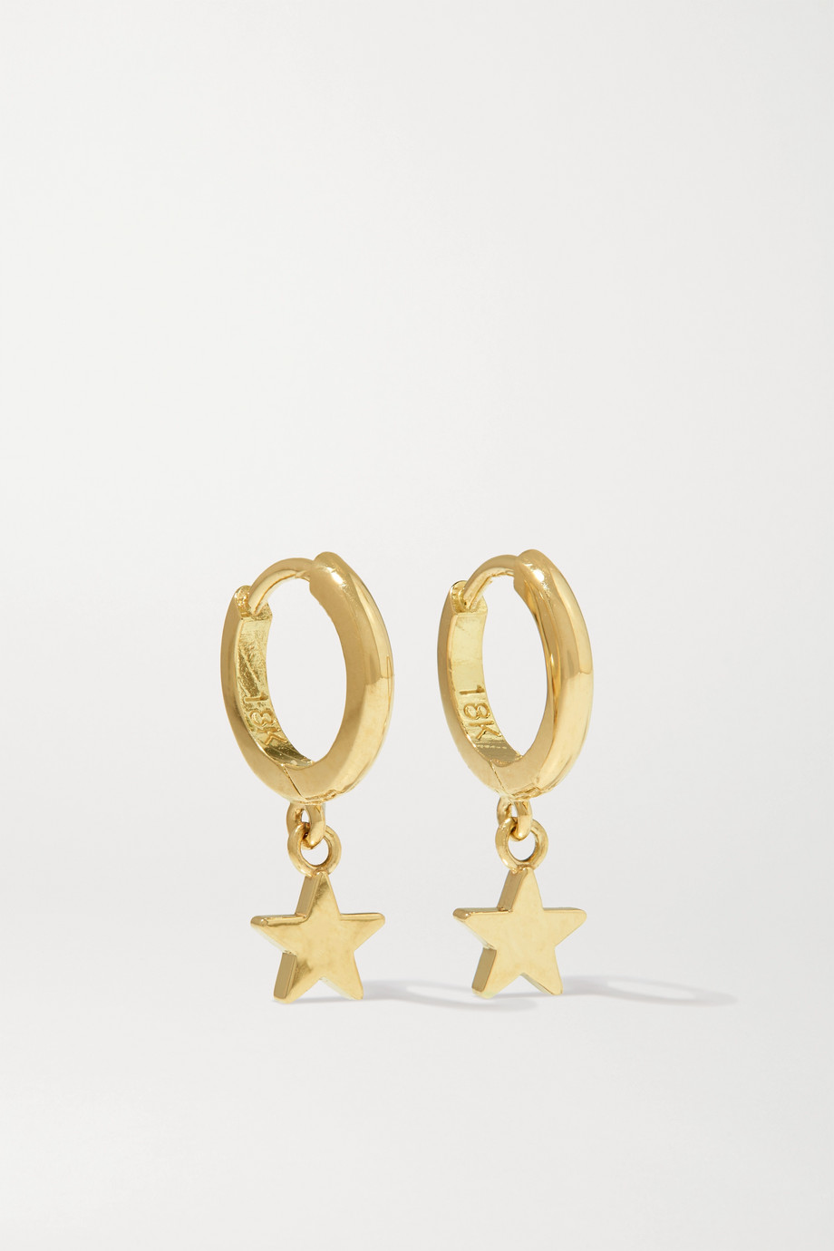Jennifer Meyer Mini Star Creolen aus 18 Karat Gold